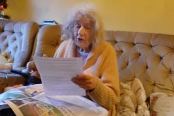 Barbara receives her letter from the GP